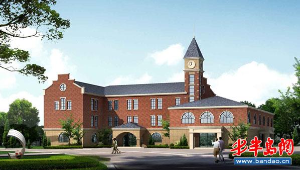 四方区小学扩建新办公楼