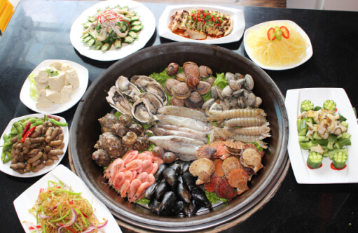 到东海渔村旗舰店品尝海鲜盛宴(图)|美食|半岛网