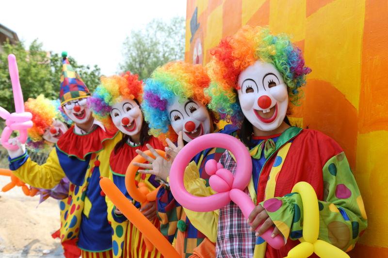 小丑嘉年华 疯狂动物城
