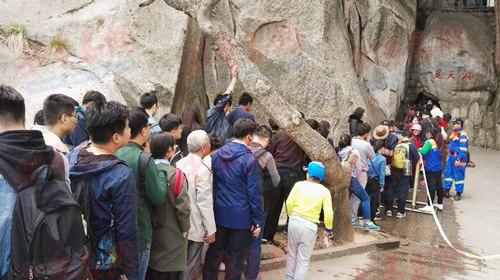 崂山风景区的客源主要以青岛本地及周边地市的短途客流为主,大约占到