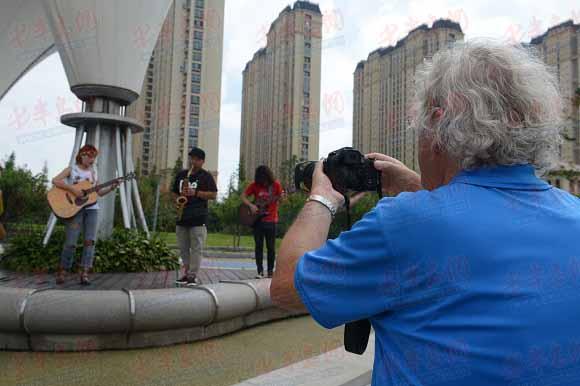 世界摄影大咖聚焦青岛西海岸新区