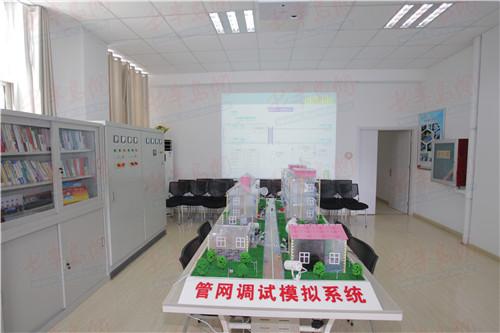 57岁热电人:自行设计制作管网调试模拟仿真系统