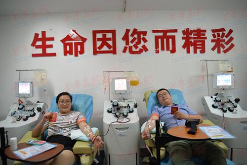 """立下献血20年的""""小目的""""岛城十大爱心献血故事出炉"""