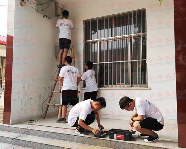 琴岛学院千余名志愿者投身三下乡 在社会实践中成长