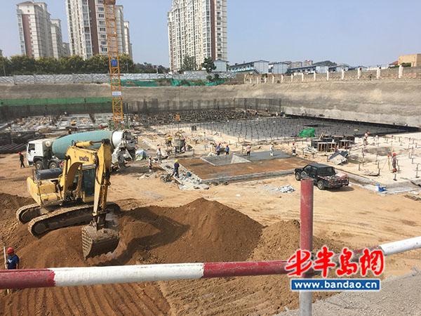 市民反映合肥路小学工程进展缓慢 青岛市住建局:2020年12月竣工