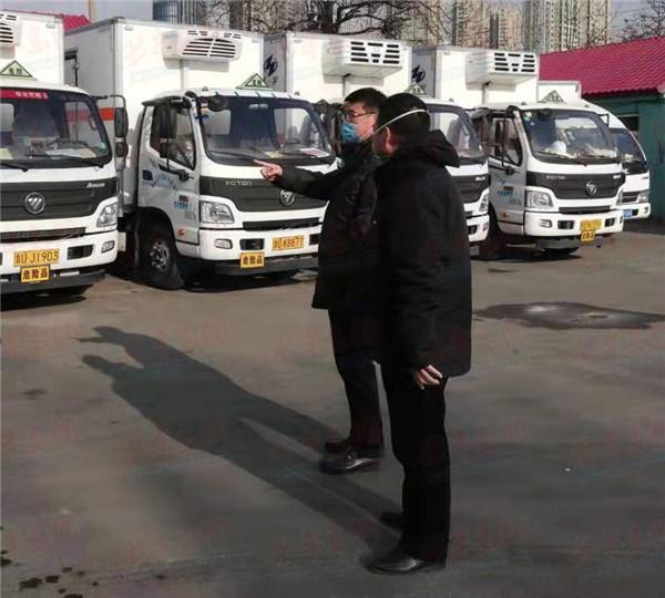"""战""""疫""""前线:青岛市运管局机关第三党支部用行动书写担当"""